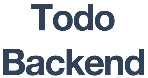 To-Do Backend Logo